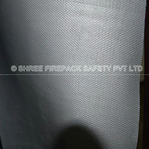 Grey Twill Silicone Rubber Coated Fiberglass Fabrics Rs