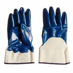 Nitrile Half Deep Hand Gloves