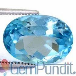 8.49 Carats Blue Topaz