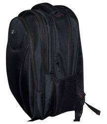 Black Casual Backpack Bags, Number Of Compartments: 3, Bag Capacity: 25 L