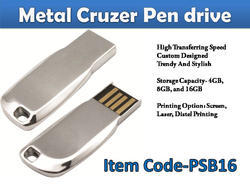 Metal Cruiser Pen Drive