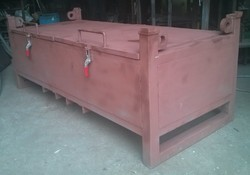 Metal Returnable Pallet, For Movement Of Goods, Capacity: 1 Ton