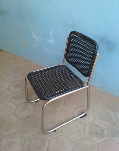 Arm Less SS Visitors Chair