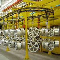 Electric Power Storage Overhead Conveyor