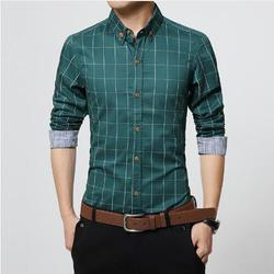 Wool Simple Collar Cotton Casual Shirt