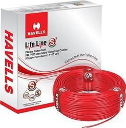 Copper, Pvc Brown, Green Havells Wire