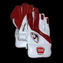 Sm Collide Cricket Wicket Keeping Gloves, Size: Men