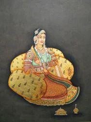 Mughal Lady Painting