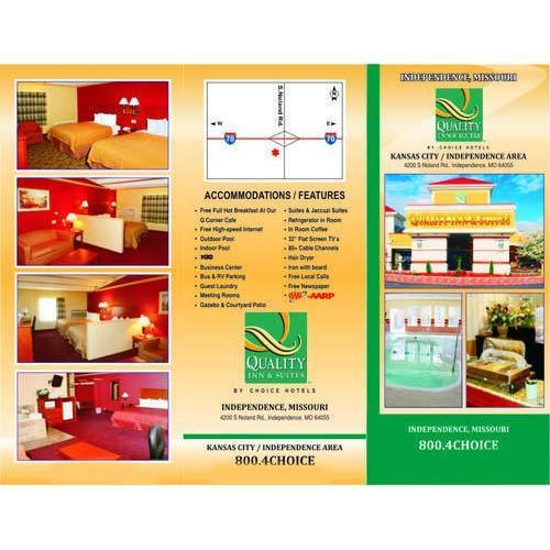Luxury Hotel Brochure At Rs 7 Piece Advertising Brochure Id