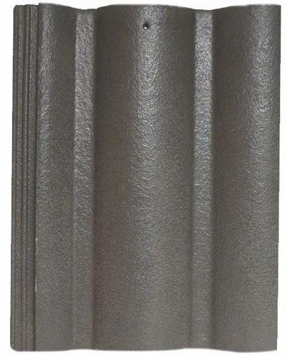 Dark Grey   Elabana   Cement Roof Tiles