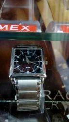 Mens Stainless Steel Belt Watch