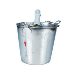 Stainless Steel Ice Bucket With Opener