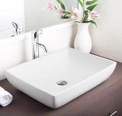 Hindware Fonte Over Counter Wash Basin Starwhite