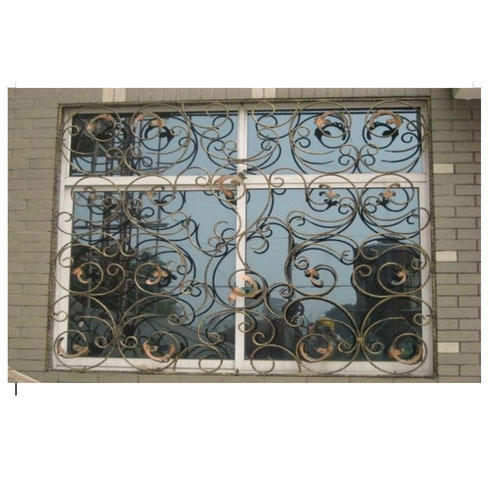 Wrought Iron Window Grill 4
