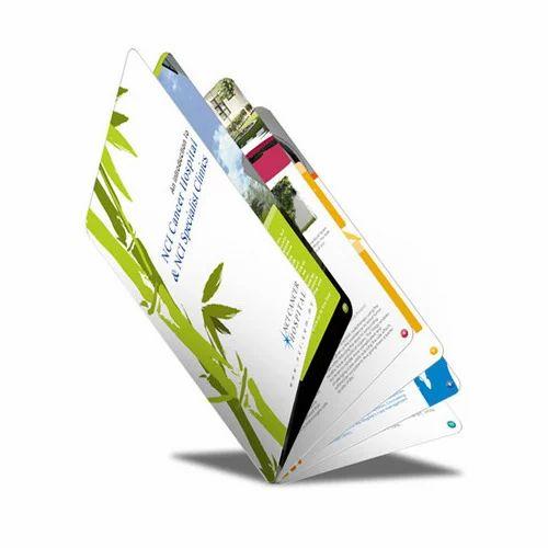 Art Card Printed Brochure, Size: A4