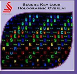 Secure Key Lock Holographic Overlay