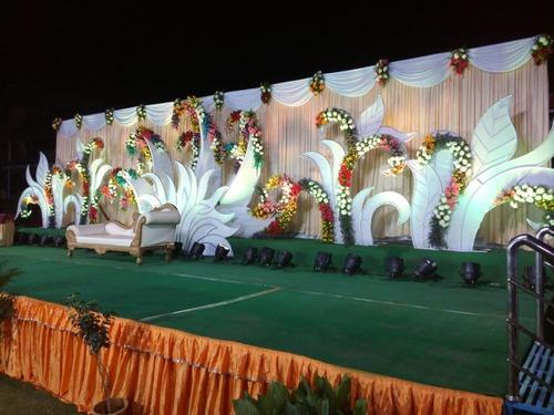 We Do Flower Decoration Mandapam Reception And Balloon With Low Packages For Marriages
