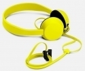 Head Phone Yellow