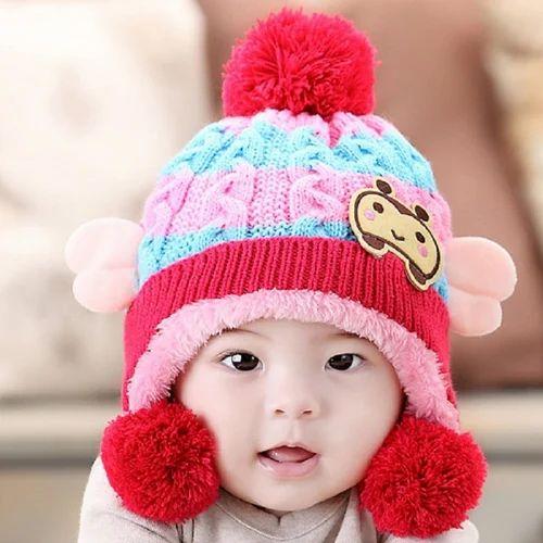 58567c33b3b Woolen Baby Cap at Rs 60  piece