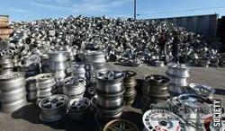 Aluminium alloy wheels scrap