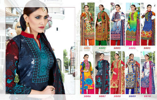 445a549569 Formal Pashmina Digital Printed Suits (KESAR VOL 8 ), Rs 551 /piece ...