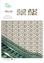 Ceramic Exterior Wall Tile, Thickness: 8 - 10 mm, Size: Large