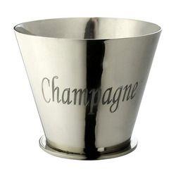 Oval Aluminum Ice Bucket