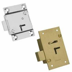 Deadbolt Cupboard Lock, Polished