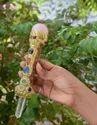 Tibetian Healing Wand-b1, Rose Quartz Ball, Jasper Orgone