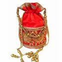 Decorative Zari Potli Bag