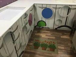 L Shape PVC Modular Kitchen, Warranty: 1-5 Years