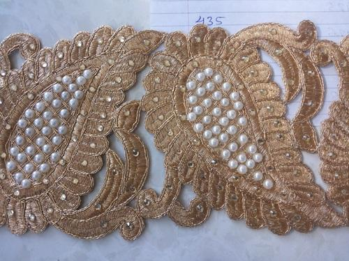 Embroidery Coding Lace - Coding Lace with Zari Work Manufacturer ... a147afdee