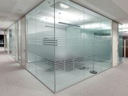 4=6=8 Glass Partition Office Cabin