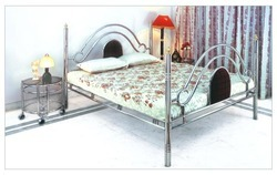 One Step Furniture Steel Bed