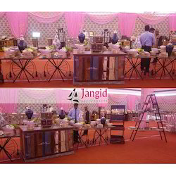 Jangid Art And Crafts Mix Color Vintage Style Catering Service Counters