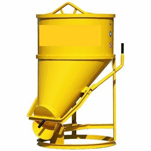 Concrete Buckets Of Tower Cranes - Center Discharge Bucket