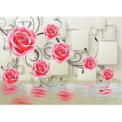 3d wallpaper at best price in india 3d wallpaper with flower voltagebd Gallery