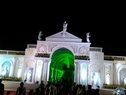 Roman Wedding Gate