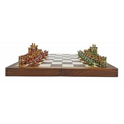 Maharaja Painted Chess Set