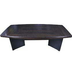 Silver Arrow, Conference Wooden Rectangular Brown Table