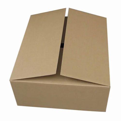 Brown Apparel Corrugated Carton Boxes, 3