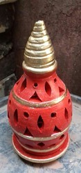 Decorative Clay Diya