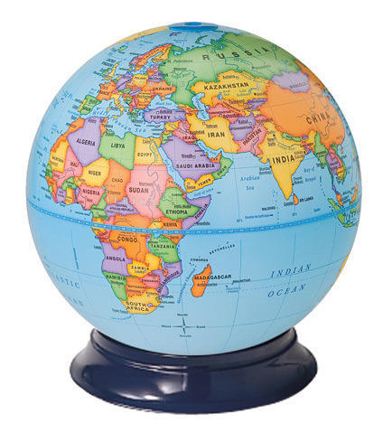 World Political Globe at Rs 45...