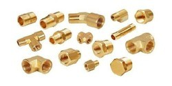 Male Brass Fittings, For Hardware Fitting, Gold