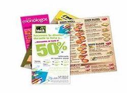 Color Menu Card Printing Services
