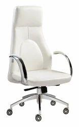 White Premium High Back Chair
