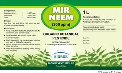 MIR NEEM (300 PPM)Bio Insecticides, Seed Treatment