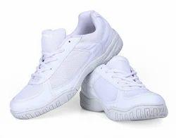 White Men Nivia School Shoes, Size: 6-11