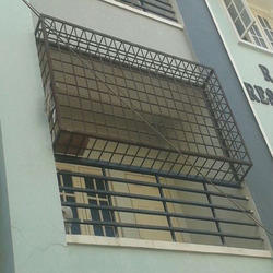 Safety Window Grill At Rs 80 Kilogram Window Grills Id 13702615788