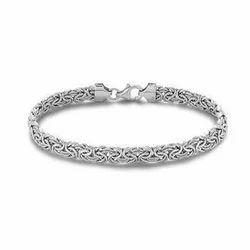 Mens Silver Bracelet At Rs 3000 Kilogram Mens Silver Bracelet